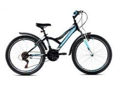 Capriolo dječji brdski bicikl MTB Diavolo 400 FS 13, plavi