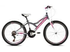 Capriolo dječji brdski bicikl  MTB Diavolo 400 13, rozi