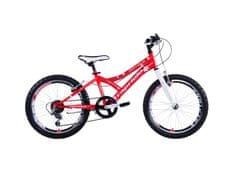 Capriolo dječji brdski bicikl MTB Diavolo 200 11.5, crveno-bijeli