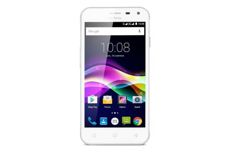 myPhone Fun 5, Dual SIM, bílý
