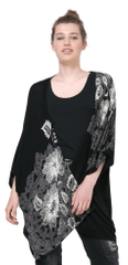 Desigual ženski pulover Aless črna