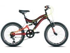 Capriolo gorsko kolo CTX 200 15.4, črno-rdeče
