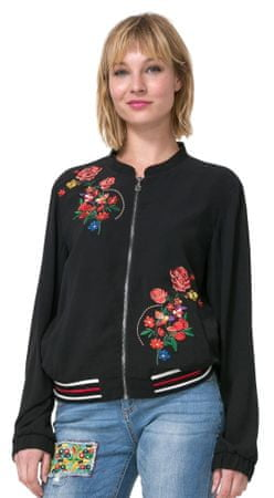 Desigual ženska jakna Ruidosa 42 črna