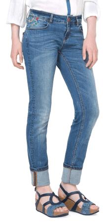 Desigual dámské jeansy Refriposas 27 modrá
