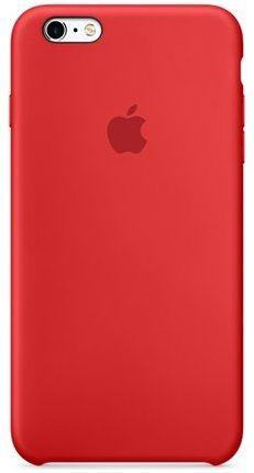 Apple Silikonový Kryt, Apple Iphone 6s, mky32zm/A, Červená