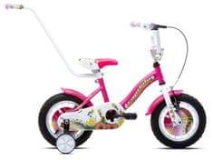 Capriolo dječji bicikl BMX STAR 6.5, ružičasti