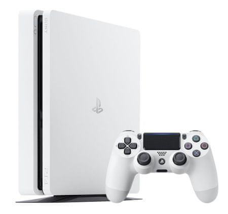 SONY PlayStation 4 Slim Glacier White 500GB (PS4 Slim 500GB) Játékkonzol