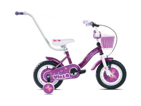 Capriolo dječji bicikl BMX Viola 3.5, ljubičasti