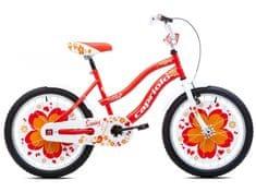 Capriolo dječji bicikl BMX Sunny 6–8, crveni