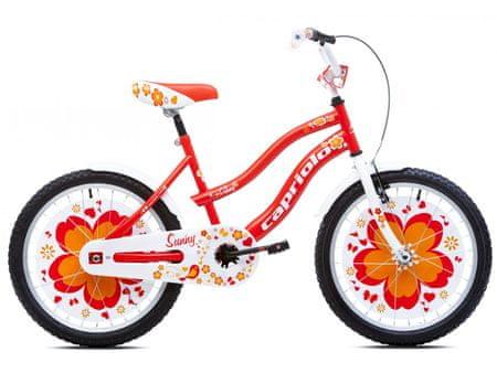 Capriolo otroško kolo BMX Sunny 6–8, rdeče
