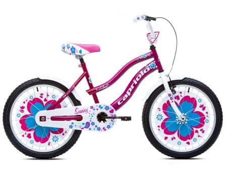 Capriolo otroško kolo BMX Sunny 6–8, roza