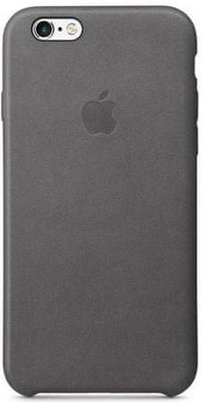 Apple Kožený kryt, Apple iPhone 6s, šedá
