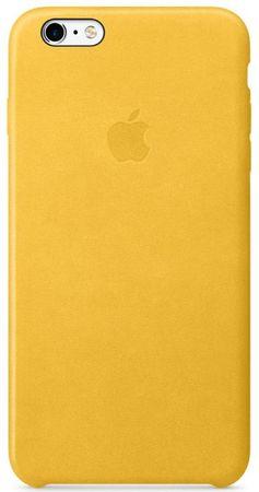 Apple Kožený kryt, Apple iPhone 6s, žlutá