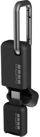 GoPro čitalec microSD kartic Quik Key (Micro USB)