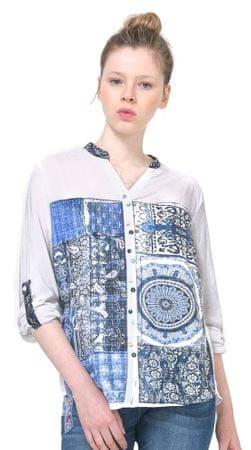 Desigual ženska srajca Gemma L bela