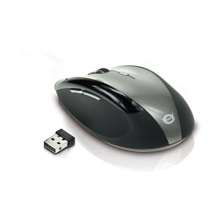 Conceptronic brezžična miška s 5 gumbi, siva (CLLM5BWL)