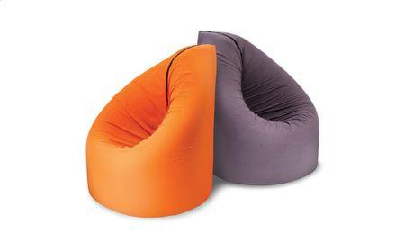Sedalna vreča BEAN, oranžna