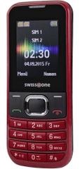 Swisstone SC230, Dual SIM, červená