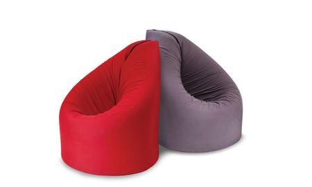 Sedalna vreča BEAN, rdeča