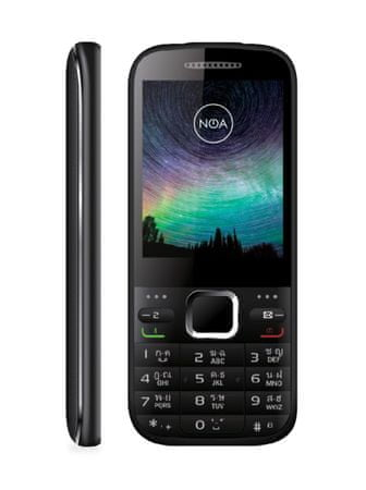 NOA GSM telefon Core Swing, 3G, črn