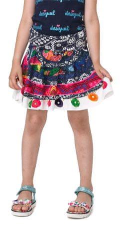 Desigual dívčí sukně Argençola 128 vícebarevná
