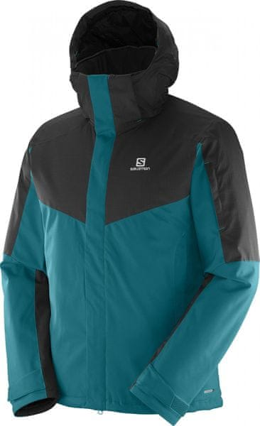 Salomon Stormseeker Jkt M Blue Steel/Black L