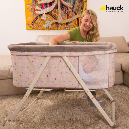Hauck Dreamer 2019 postýlka kolébka