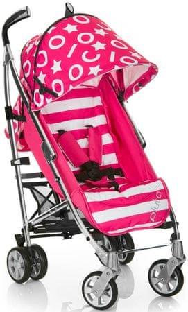 iCoo Pluto kočík, stripe-pink