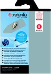 Brabantia Bavlnený poťah 124x38 vel.B, 2mm molitan