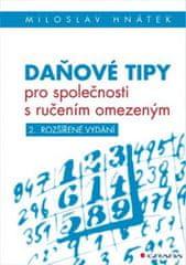 Hnátek Miloslav: Daňové tipy pro společnosti s ručením omezeným