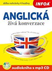 Anglická živá konverzace + CDmp3