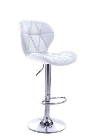 Barski stol Indira OS161, bel