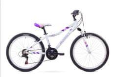 """Romet rower dziecięcy Jolene JR 24"""" biały S 13"""" model 2017"""