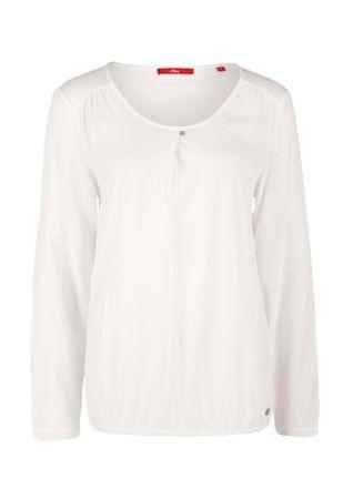 s.Oliver női póló 36 krém