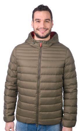 Geox moška jakna 54 kaki