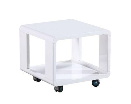 Klubska miza Taras OS153, bela
