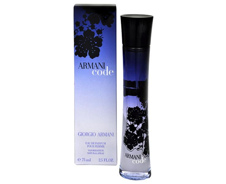Giorgio Armani Code For Women - EDP - SLEVA - bez celofánu 75 ml