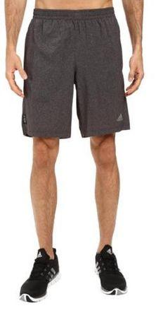 Adidas športne hlače Aktiv Heather Dual Short, sive, L