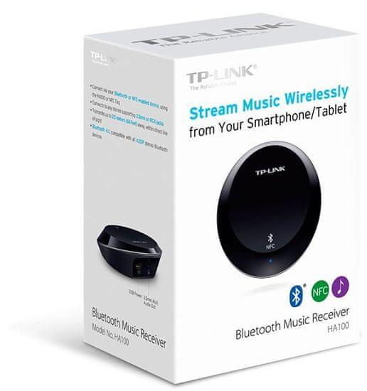 TP-LINK Bluetooth hudobný prijímač HA100