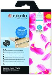 Brabantia Bavlnený poťah124x45 veľ. C, Pink Santini, 2mm molitan