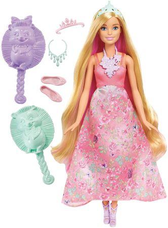 Mattel Barbie Kouzelné barevné vlasy blondýna