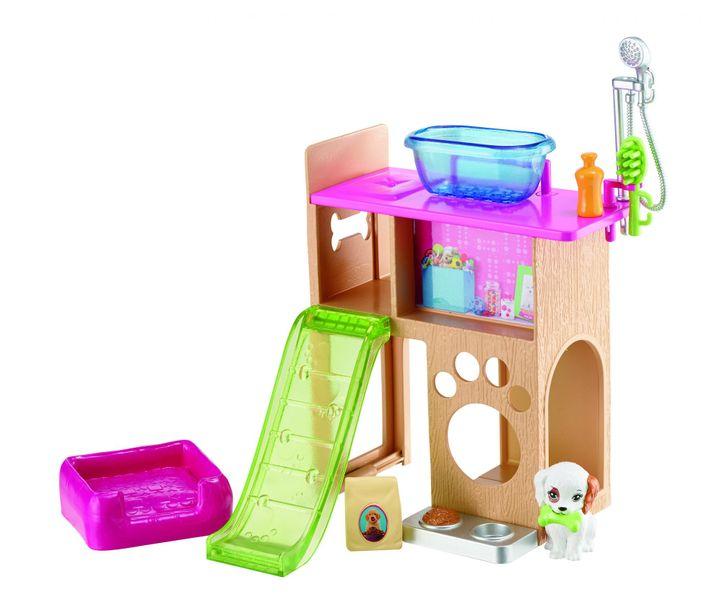Mattel Barbie Nábytek Hra se zvířátky