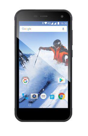 Evolveo StrongPhone G4, LTE, Dual SIM, černý