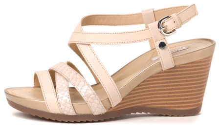 Geox ženski sandali New Rorie 37 bež