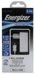 Energizer Nabíječka QUICK CHARGE, 1 USB port, bílá