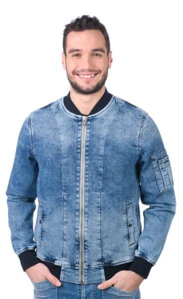 Pepe Jeans pánská bunda Teddy XXL modrá