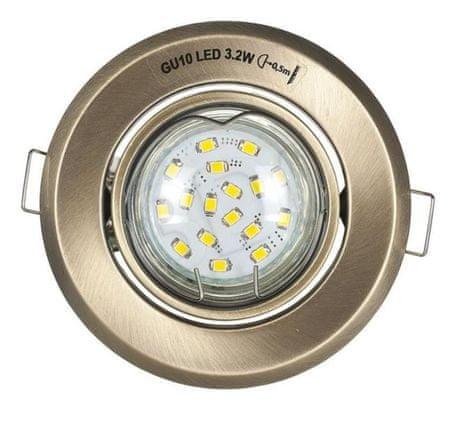 ActiveJet stropna vgradna LED svetilka 4,5W, komplet
