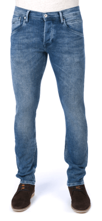 Pepe Jeans jeansy męskie Track 30/34 niebieski