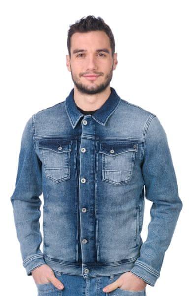 Pepe Jeans pánská bunda Rooster XXL modrá