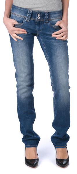 Pepe Jeans dámské jeansy Venus 27/34 modrá